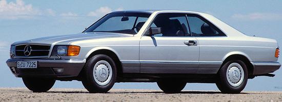купе Mercedes-Benz S-class W126
