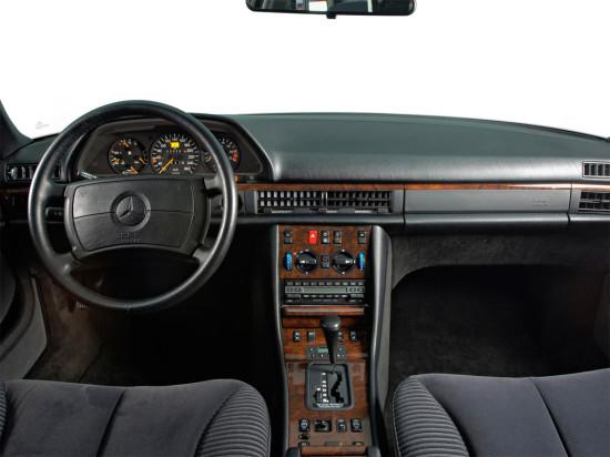 интерьер Mercedes-Benz S-class W126