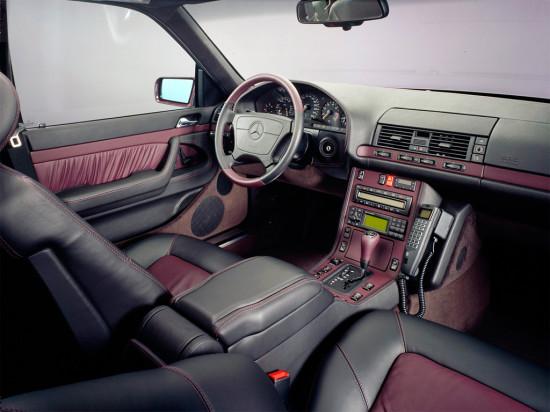 интерьер салона Mercedes-Benz S-class W140