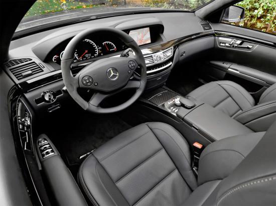 интерьер салона Mercedes-Benz S-class W221