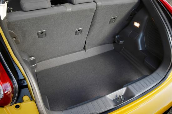багажное отделение Nissan Juke YF15