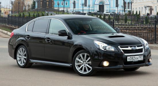 Subaru Legacy 5 (2009-2014) на IronHorse.ru ©