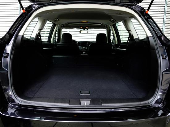 багажное отделение Subaru Outback 4