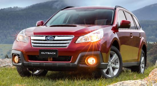 Subaru Outback 4 (2009-2014) на IronHorse.ru ©