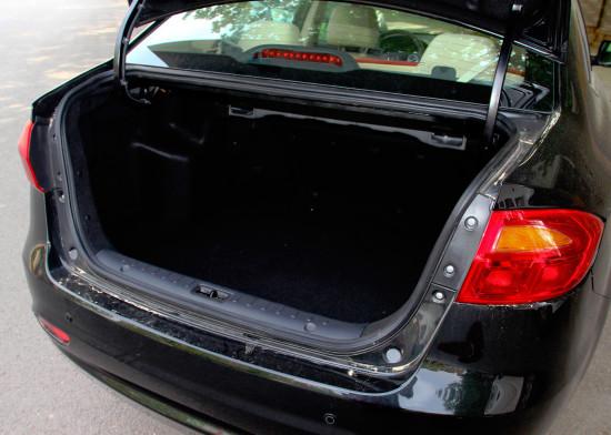 багажное отделение JAC J4