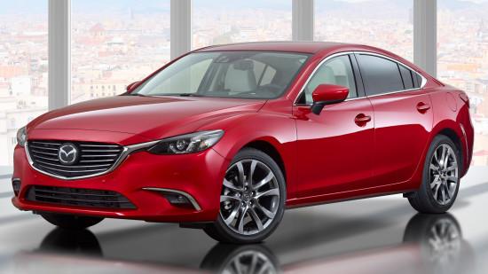 Mazda 6 Sedan GJ 2016-2017