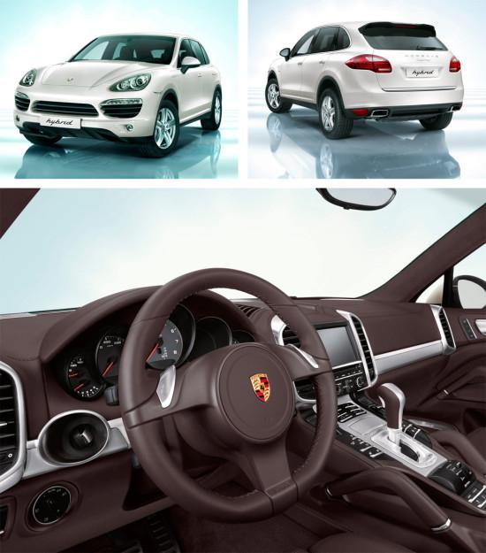 Porsche Cayenne S Hybrid 2010-2014