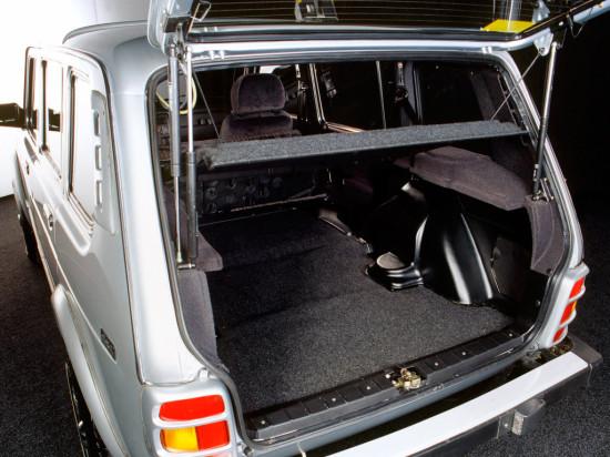 багажное отделение ВАЗ-2131