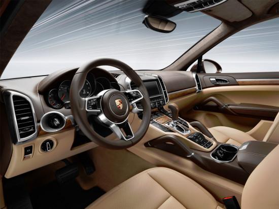 интерьер салона Porsche Cayenne (958)