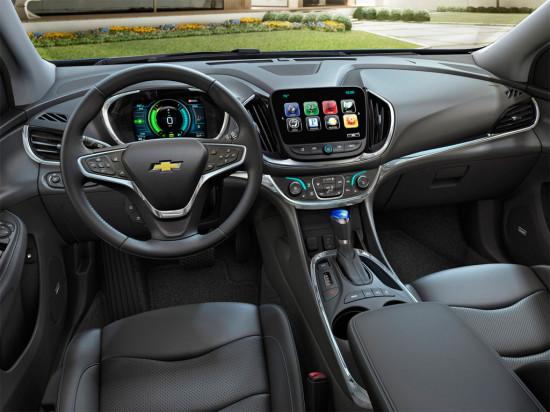 интерьер салона Chevrolet Volt II