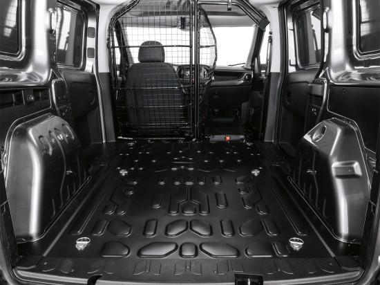 грузовой отсек Fiat Doblo 2 Cargo