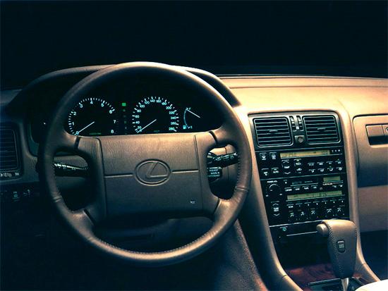 интерьер салона Lexus LS XF10 1989-1994