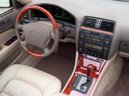 интерьер салона Lexus LS XF20 (1994-2000)
