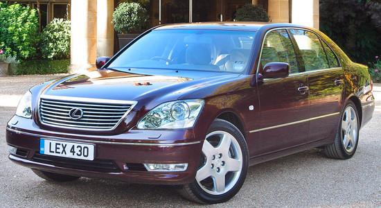 Lexus LS (2000-2006) на IronHorse.ru ©