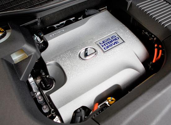 под капотом Lexus RX450h
