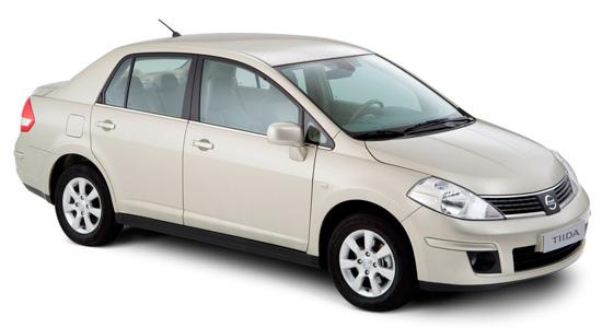 Nissan Tiida C11 Sedan