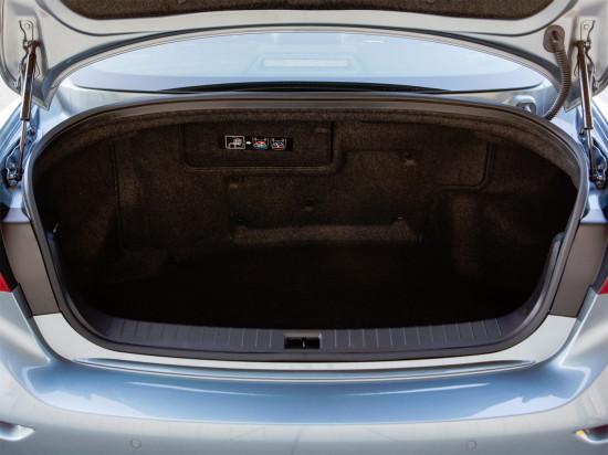 багажное отделение Infiniti Q50 Hybrid