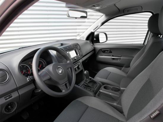 интерьер салона Volkswagen Amarok SingleCab