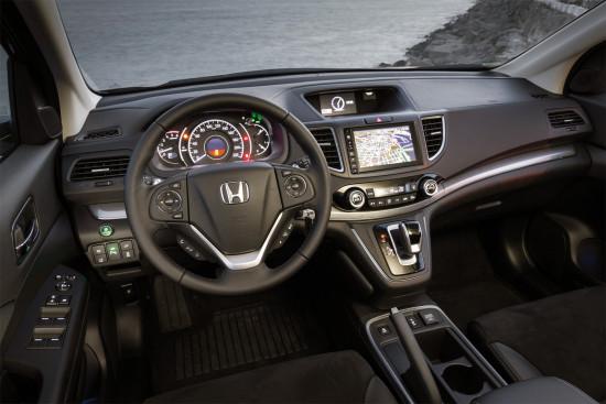 интерьер салона Honda CR-V 4