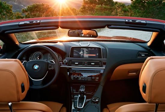 интерьер салона BMW 6-Series Convertible (F12)