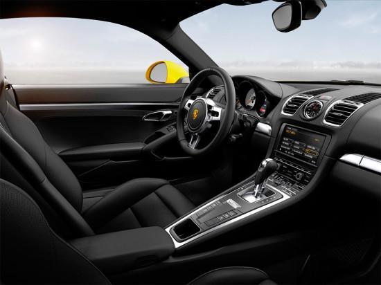 интерьер салона Porsche Cayman S 2-поколения