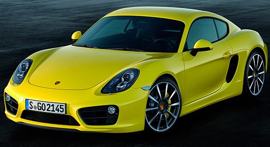 Porsche Cayman S 2-го поколения