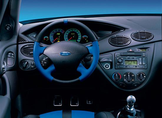 интерьер Ford Focus 1 RS