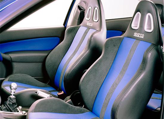 в салоне Ford Focus 1 RS