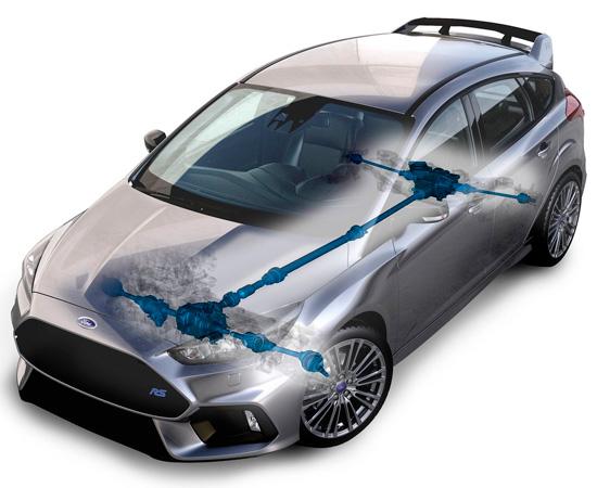 полноприводный Ford Focus 3 RS