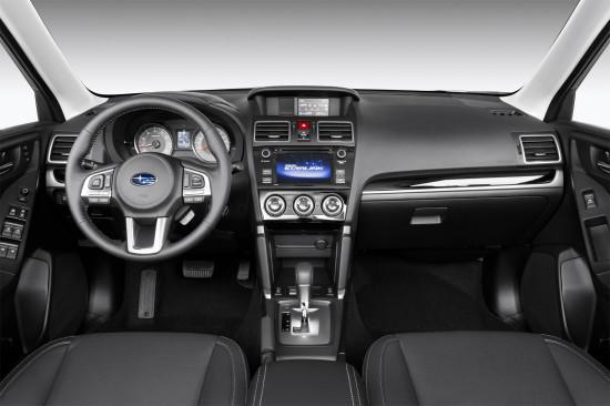 интерьер салона Subaru Forester 4