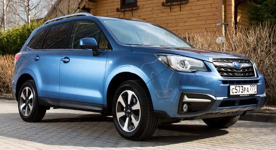 Subaru Forester 4 (2013-2018) на IronHorse.ru ©