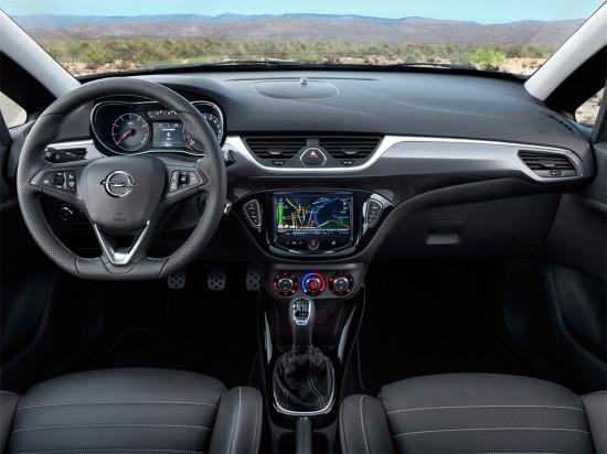 интерьер Opel Corsa E OPC