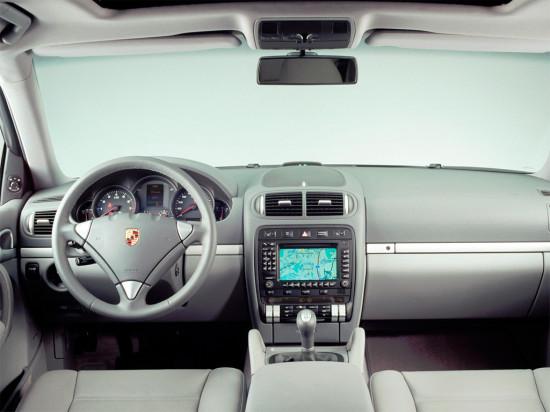 интерьер салона Porsche Cayenne (955)