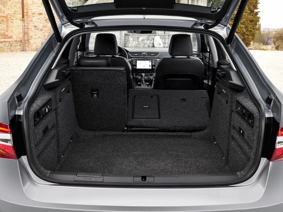 багажник третьего Суперба