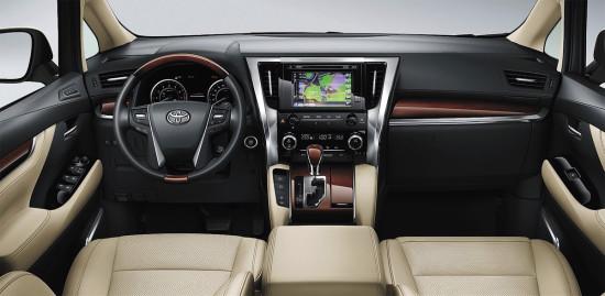 интерьер салона Toyota Alphard 3