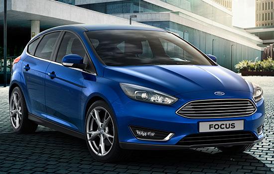 хэтчбек Ford Focus 3 2015