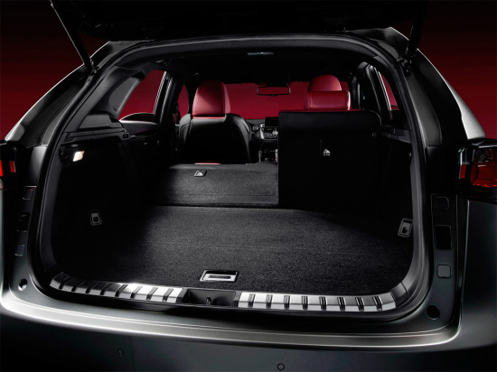 багажник Lexus NX 200t F SPORT