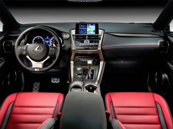 интерьер Lexus NX 200t F SPORT