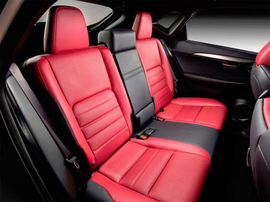 в салоне Lexus NX 200t F SPORT