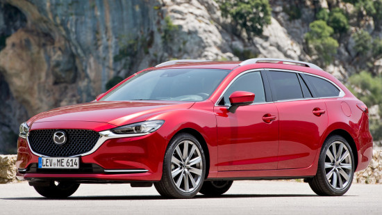 Mazda 6 Wagon (GJ) 2018-2019