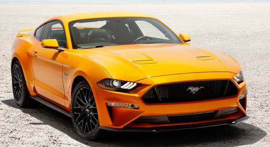 Ford Mustang 6 (2017-2018) на IronHorse.ru ©