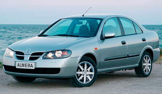 седан Nissan Almera (N16)