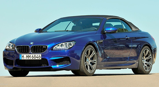 BMW M6 Convertible (F12)