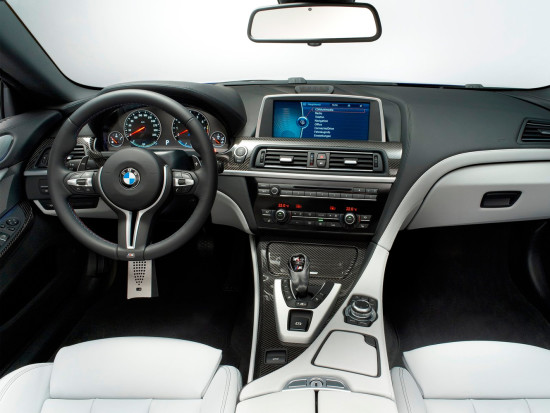 интерьер салона BMW M6 Convertible (F12)