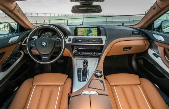 интерьер BMW 6-Series Gran Coupe (F06)