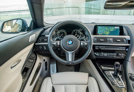 интерьер BMW 6-Series Coupe (F13)