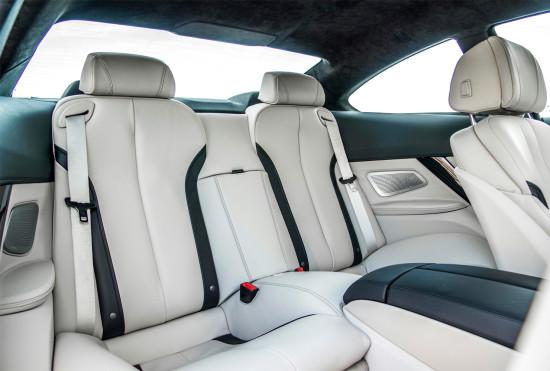 в салоне BMW 6-Series Coupe (F13)