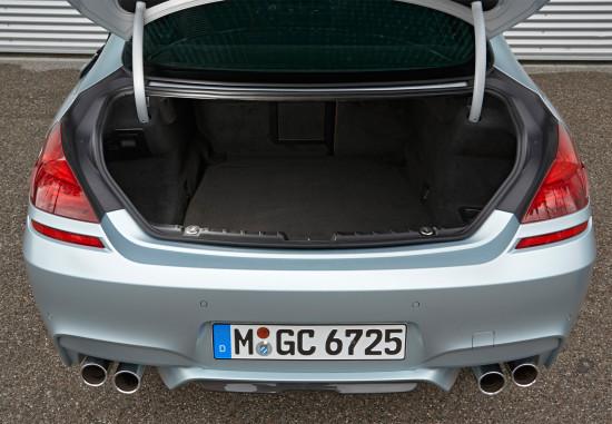 багажный отсек BMW M6 Gran Coupe (F06)
