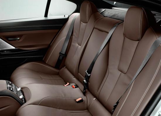в салоне BMW M6 Gran Coupe (F06)