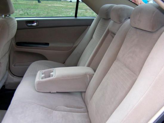 в салоне Toyota Camry XV30